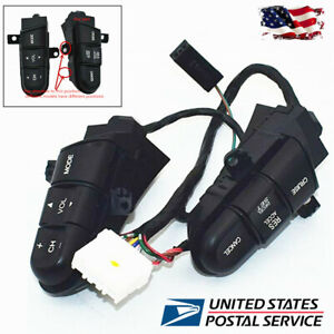 Usa Car Steering Wheel Cruise Audio Remote Control Switch For Honda Civic 09 11