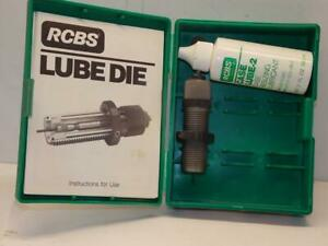 RCBS LUBE DIE # 2 #87552 WITH PARTIAL BOTTLE OF LUBE $29.99