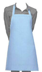 Cutest Ever Vinyl Waterproof Apron Durable Lightweight Turquoise Blue Dish Groom