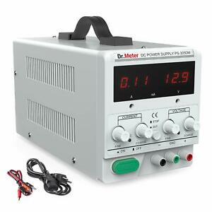 Dr meter 30v 5a Dc Bench Power Supply Single output 110v 220v Switchable With Al