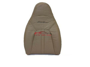 2000 Ford Expedition Eddie Bauer Xlt Driver Lean Back Leather Seat Cover Tan