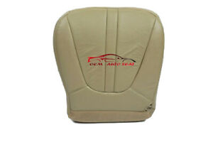 2000 Ford Expedition Eddie Bauer Xlt Driver Bottom Leather Seat Cover Tan