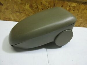 00 07 Ford Focus Front Center Console Storage Compartment Armrest Arm Rest Brown