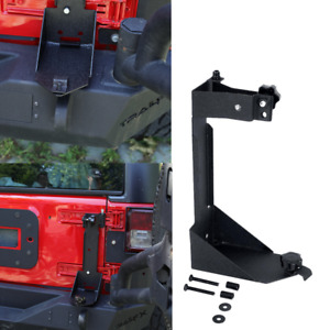 Off Road High Lift Jack Mount Hood Mounting Bracket For 07 17 Jeep Wrangler Jk