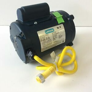 Leeson 103583 00 Electric Motor 1 3hp 1ph 1725rpm S56c Frame 115 208v C4c17nc35a
