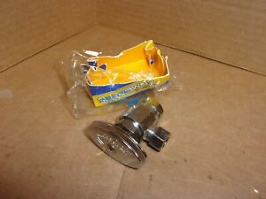Speedway Or17 Angle Stop Valve 1 2 X 3 8 New