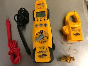 Field Piece Multimeter Hs35 With Clamp Ach Temp Probe Leads Thermocouple
