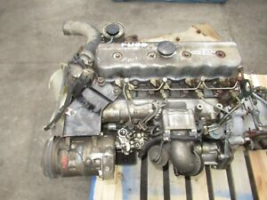 Jdm Nissan Atlas Fd35 3 5l Diesel Engine 5 Speed Manual Transmission Complete 2