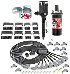 Msd Ignition 83603k Ready To Run Ignition Kit Small Block Chevy Big Block Chevy