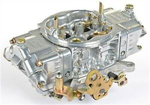 Holley 0 80575s R Shiny Supercharger Hp Carb 600 Cfm Remanufactured