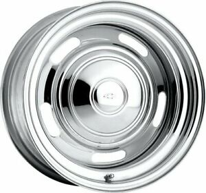 U S Wheel 57 5850400l Chrome Rallye Wheel Series 57
