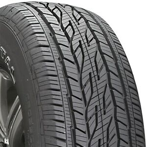 2 New P235 75 16 Continental Cross Contact Lx20 75r R16 Tires
