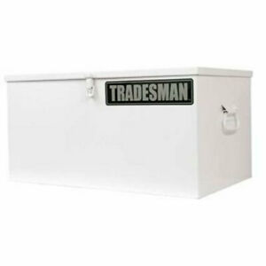 Lund 88048 Job Site Tool Box White Length 42 750 In Width 18 500 In Height