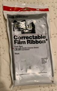 Smith Corona Correctable Film Ribbon 2 pack H63446 New In Package