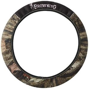 Br30 Browning Steering Wheel Cover Neoprene Pink Break Up Camo 14 17 Ez Slip On