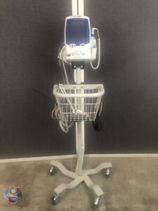 Welch Allyn Lxi 450t0 Spot Vitals Patient Monitor nellcor Spo2 Nibp And Temp