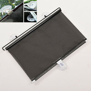 Retractable Car Auto Sun Shade Block Windshield Rear Window Mesh Sun Visor