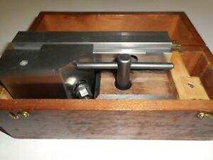 Precision Grinding Vise Made By A Precision Tool Die Maker W Wooden Box