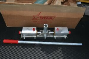 Star Pda 2 Double Acting Hydraulic Pump Dual Unit New