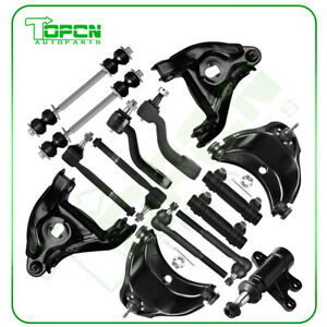 15pc Complete Front Suspension Kit For Chevy Gmc C1500 C2500 Suburban Tahoe 2wd