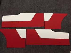 Custom Door Panels 1964 65 Ford Falcon Two Door Two Tone