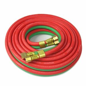 25ft 1 4 High Quality Twin Torch Hose Oxygen Acetylene Welding Hose 300psi
