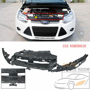 Front Bumper Bracket Suppor Mounting Kit Cover For Ford Focus 2012 14 Fo1065105