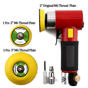 2 3 Mini Orbital Air Sander Polisher Eccentric Dual Action Angle Grinder