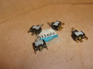 Miller 011609 Toggle Switch Lot Of 4