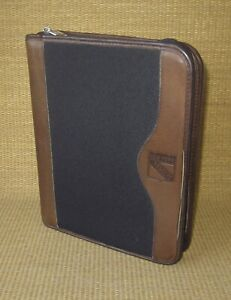 Classic 1 5 Rings Brown Leather Durable Franklin Covey Planner binder