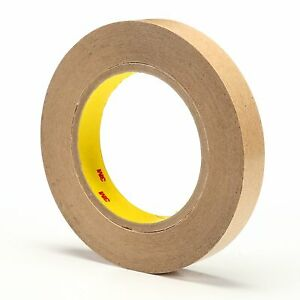 465 Adhesive Transfer Tape 3 4 In X 60 Yd Clear pack Of 48