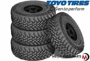 4 New Toyo Open Country Mt 37x12 50r22lt F 12 127q Tires