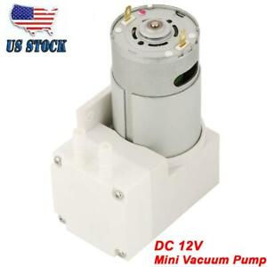Dc 12v 50w Mini Vacuum Pump 7l min Negative Pressure Suction Diaphragm Pumps Us