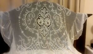 Antique Lace 4 Poster Bed Canopy Topper Full Size
