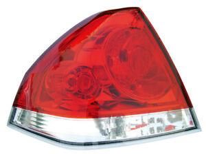 Tail Light Rear Back Lamp For 06 15 Chevy Impala Driver Left