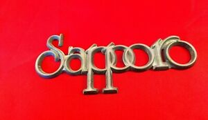 1970 S 80 S Plymouth Sapporo Stick On Oem Emblem