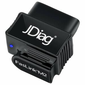 Obd2 Scanner Bluetooth Professional Car Diagnostic Obdii Scan Tool For Iphone