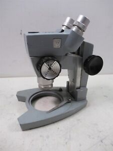 Ao American Optical Spencer Stereo Microscope 2x Cat 265 Objective Lab Unit