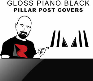 Rtrim Piano Gloss Black Pillar Post Trim Cover For Buick Rendezvous 2002 20