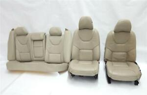 Full Set Of Power Leather Seats Sedan Oem 08 2008 Volvo 60 Series S60 R325742