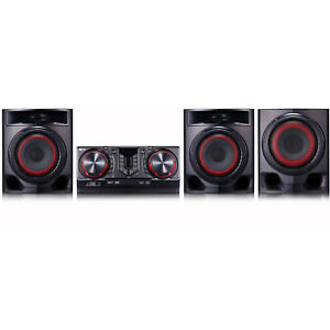 LG CJ45 720W Hi-Fi Entertainment System with Bluetooth Connectivity (Black)