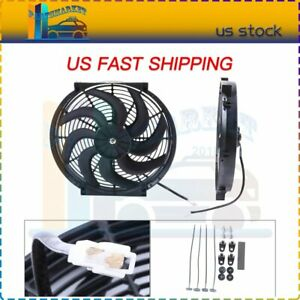 14 Inch Electric Radiator Cooling Fan For 1996 2015 Buick Regal Lacrosse Verano