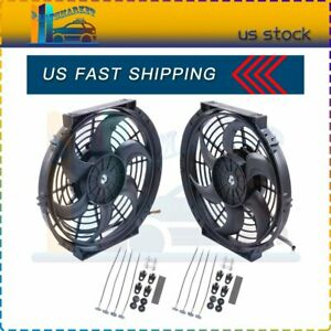 10 Inch Electric Radiator Cooling Fan For 1995 2010 Mercury Mountaineer Acura Tl
