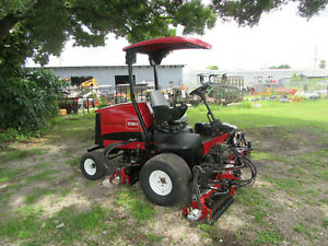 2013 Toro 5510 Fairway Reel Mower Kubota Diesel 96 Cut Dpa Reels 03680n
