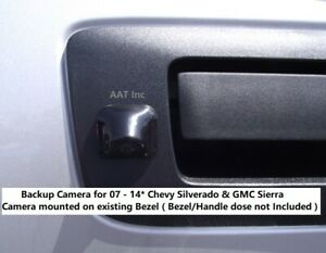 Rear View Backup Camera For 07 14 Chevy Silverado Gmc Sierra no Bezel Included