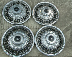 Vintage Lot Of 4 1980 1985 Buick Riviera Wire Hubcap 14