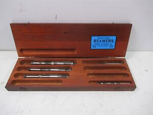 Genuine Critchley Expansion Reamers Chadwick Trefethen In Vintage Wood Case
