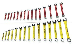 Wiha 30 Piece Soft Grip Sae Metric Combination Wrench Set Combo Wrenches