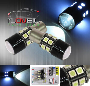 Cree Led Projector 12 Smd 1156 White Led Light Bulb Stop Brake Bumper Signal