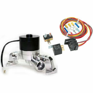 Prw 4539021k Electric Water Pump Relay Kit Ford Fe 352 460 Right Inlet Include